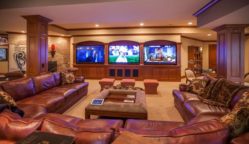 3 Screen Home Theater