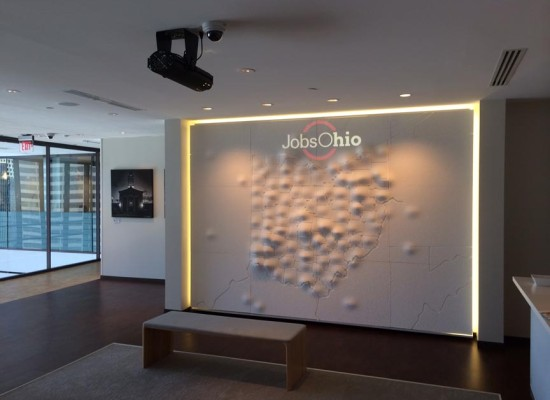 Commercial Wall Display